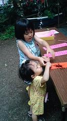 20100703あやかちゃん&はるかちゃん