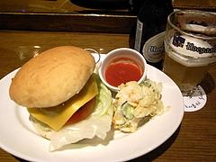090621ハンバーガープレート&ヒューガルデン