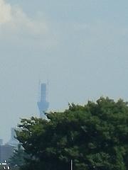 100926ゆめりあフェンテから見えた東京スカイツリー