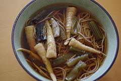 101003山菜ニシン蕎麦