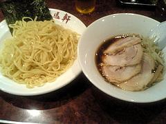 080918醤油チャーシューつけ麺