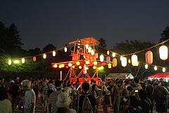 100801盆踊り@江戸東京たてもの園下町夕涼み