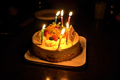 101120誕生ケーキ