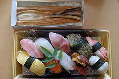 090407穴子寿司&握り寿司