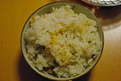 100418いちご煮の炊き込みご飯
