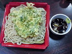 100405春菊天もりそば@新宿駅メトロ食堂街永坂更科