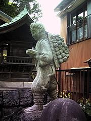 100525二宮尊徳像