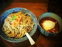 110131イタリアントマトチーズつけ麺@蕃茄