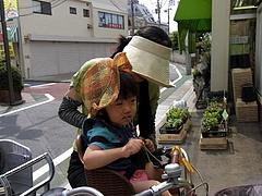 100912はるかちゃん&お母さん