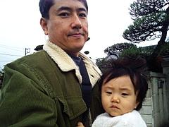 091114はるかちゃん&パパ