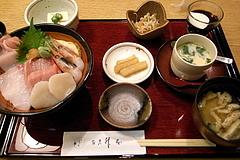 101115海鮮丼御膳@亀戸升本