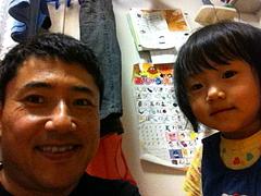 101015はるかちゃん&パパ