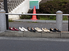 110407謎の靴