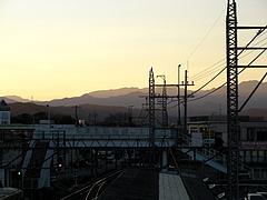 110104駅より秩父方面