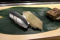 100922コハダ&真鯛昆布〆@北辰寿司