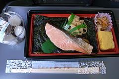 090422鮭弁当