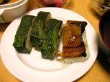 070112高菜穴子寿司