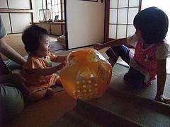 090814あやかちゃん&はるかちゃん
