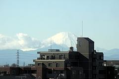 101208LIVIN OZより見た富士山