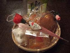 080511母の日お菓子とお茶の詰め合わせ