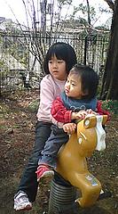 100413あやかちゃん&はるかちゃん
