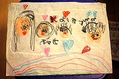 100519あやかちゃんが描いた家族の絵