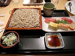 080915そばと寿司のセット
