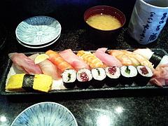 091020にぎり寿司1.5人前