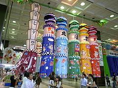 080801仙台駅七夕飾り