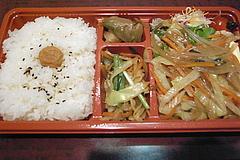 090427豚生姜焼き弁当