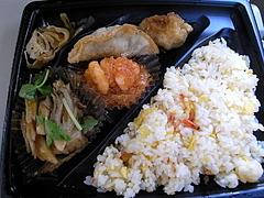 091226海老チリ&桜えび炒飯弁当