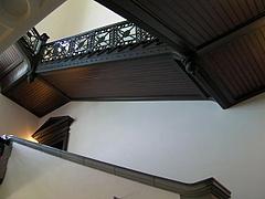 091013国際子ども図書館内部の階段