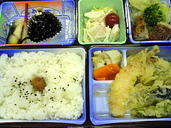 081116弁当(夕飯)
