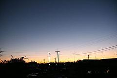 081120夕焼け空