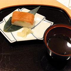 101207北陸産鮭の押し寿司
