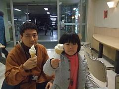 100124あやかちゃん&パパ