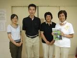 不動産ライターの高田七穂さん(左)と理事会役員さん