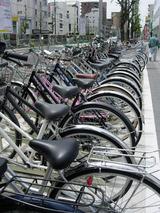 自転車置き場有料下のあおり・・・