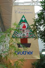 クリスマス・キルト展へ