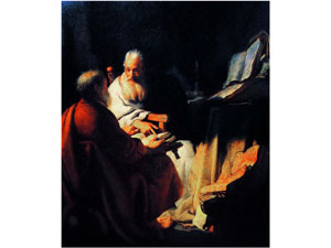 Rembrandt (c1628) St Peter and St Paul
