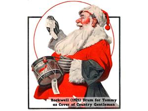 1921rockwell santa