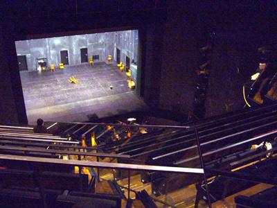 マインツ劇場の中