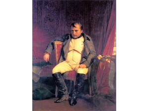 失意のナポレオン