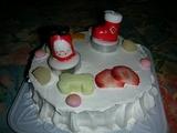ワン用クリスマスケーキ