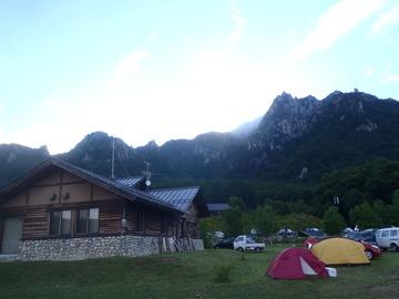 瑞牆キャンプ場
