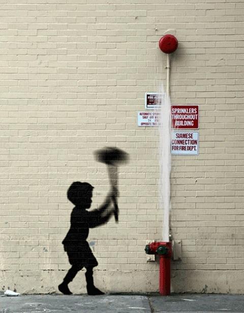Banksy-Pieces-Transformed-Into-GIF-Animations
