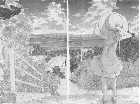 シノハユ-第26話見開き