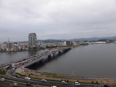 松江アーバンホテル本館ビアガーデンより撮り直し