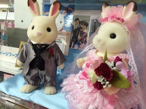 weddingショコラウサギ01