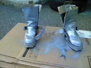 ブーツ染めて良かった〜